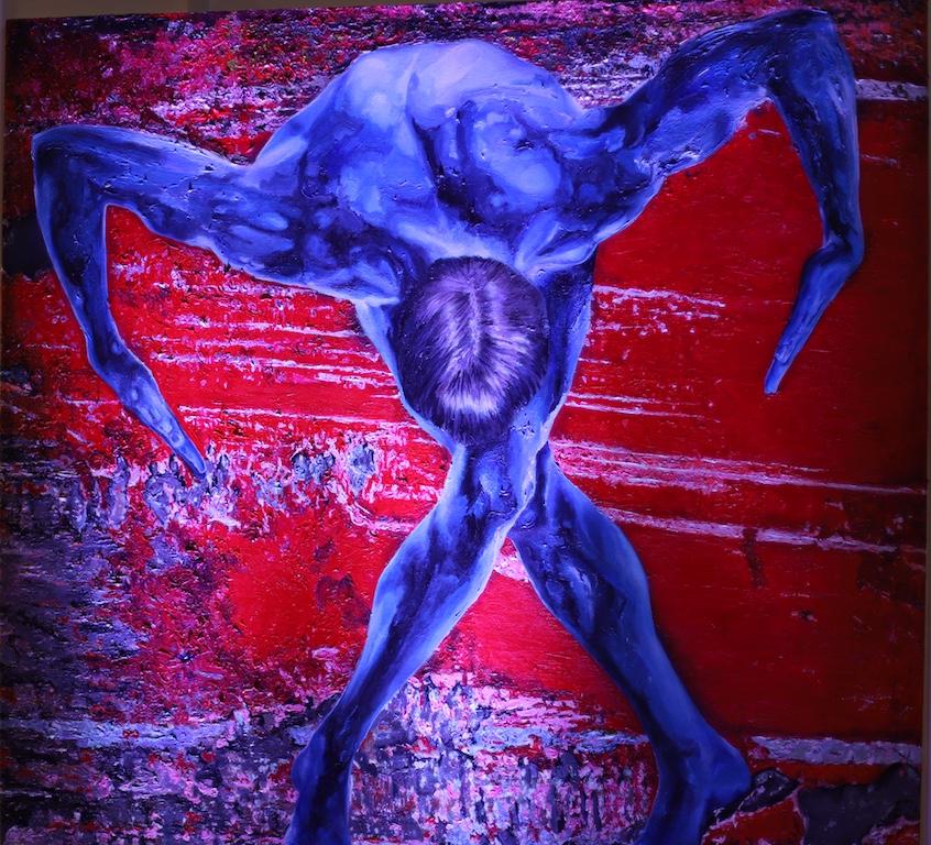 Joseph Aragon Expo Art Icade Aubervilliers sept 2017